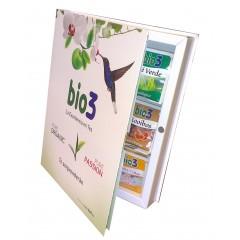 bio3 - Libro de tés - 54 bolsitas